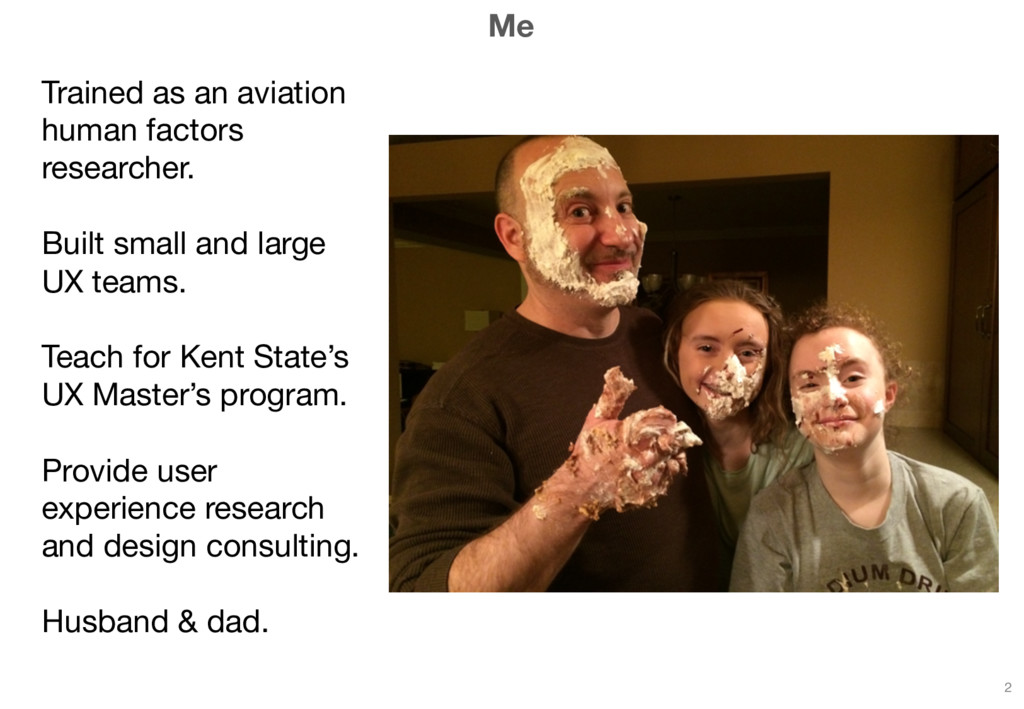 Me Trained as an aviation human factors researc...