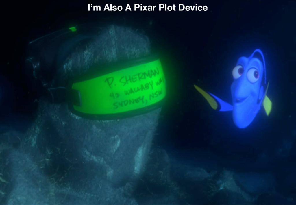 3 I'm Also A Pixar Plot Device