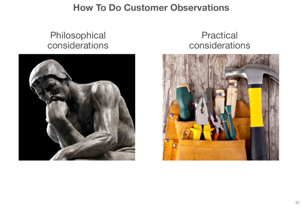How To Do Customer Observations Philosophical c...