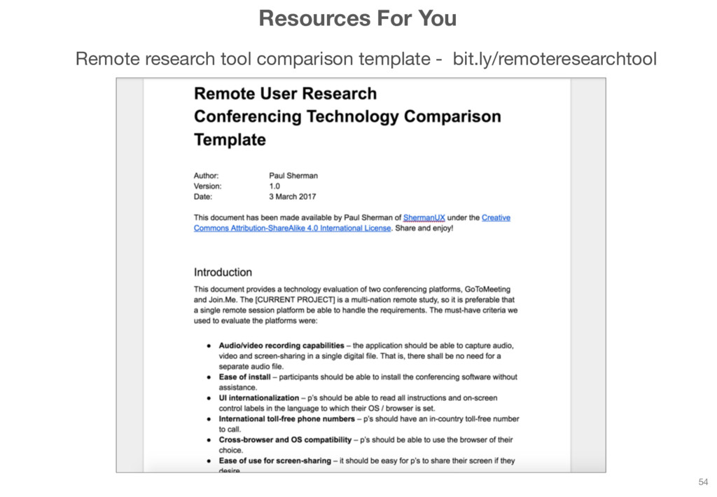 Resources For You Remote research tool comparis...
