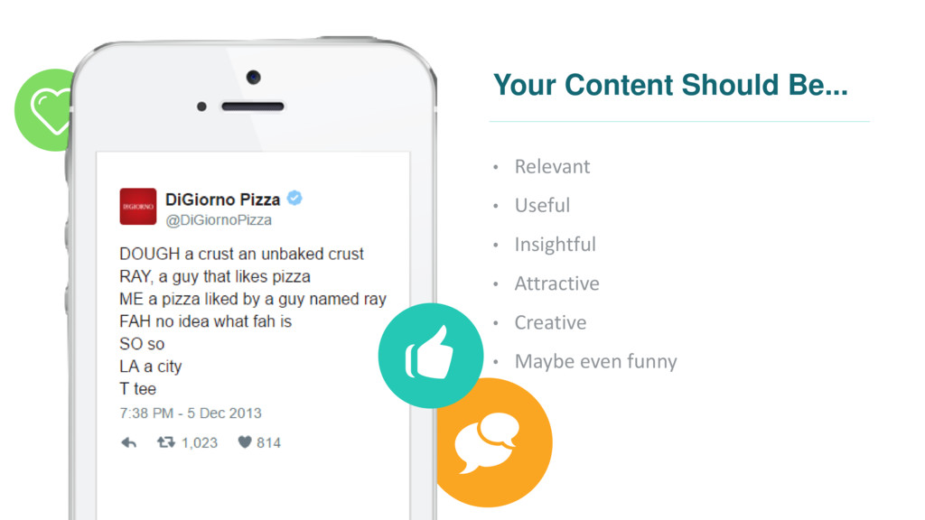 Your Content Should Be... • Relevant • Useful •...