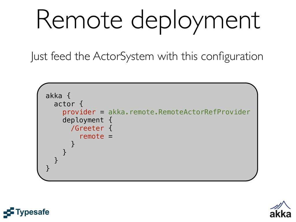 akka { actor { provider = akka.remote.RemoteAct...