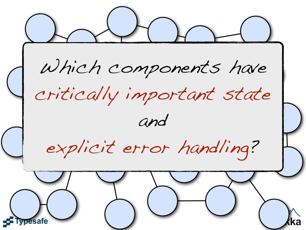 Which components have critically important stat...