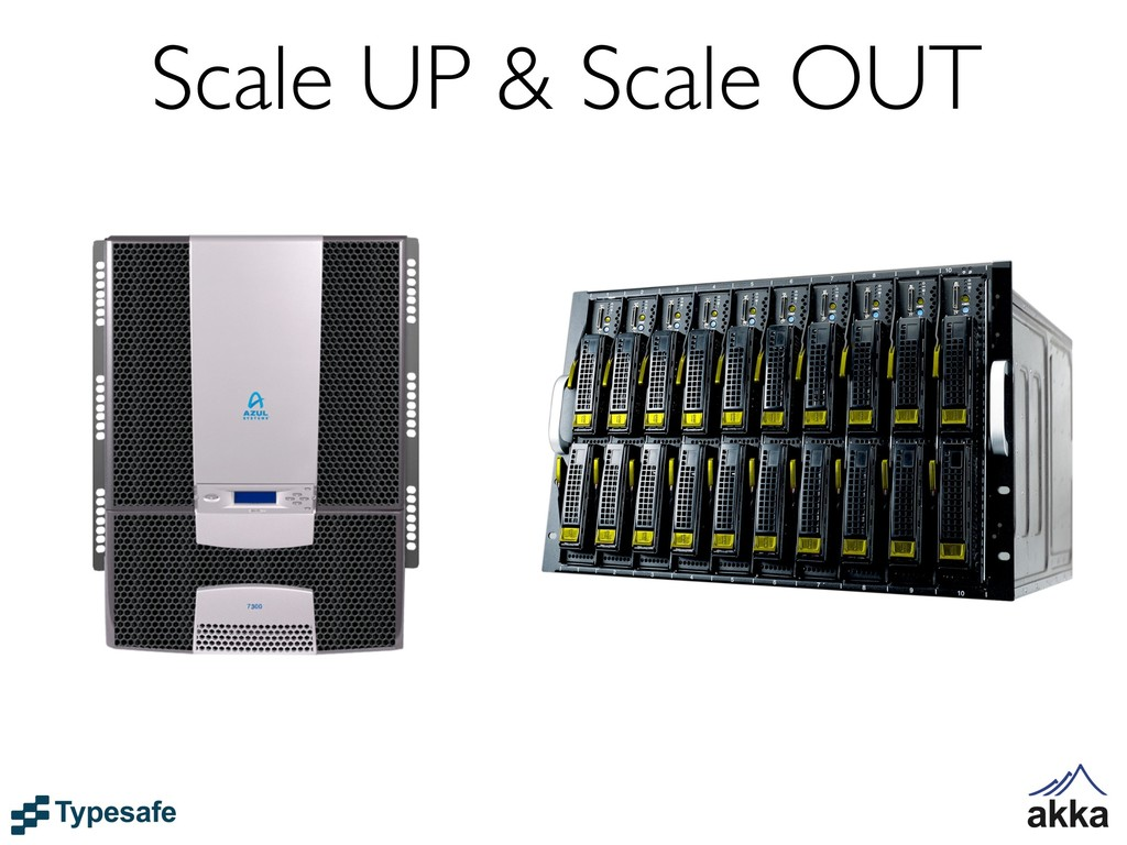Scale UP & Scale OUT
