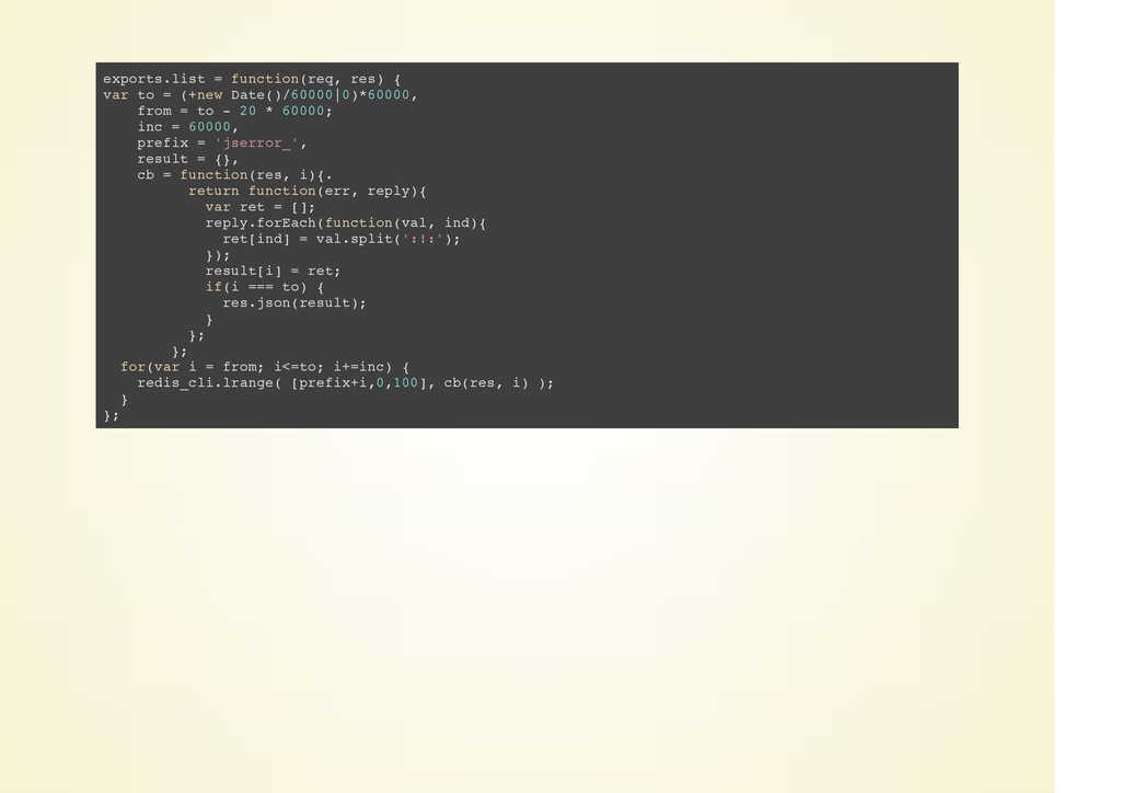 exports.list = function(req, res) { var to = (+...