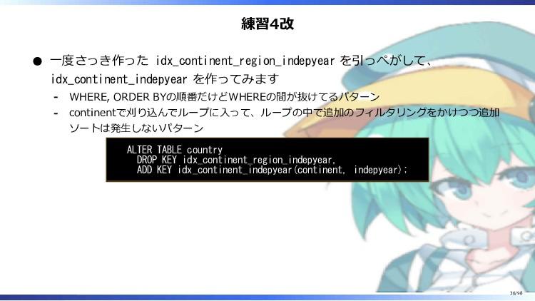 練習4改 一度さっき作った idx_continent_region_indepyear を引...