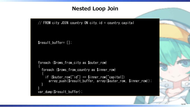 Nested Loop Join // FROM city JOIN country ON c...