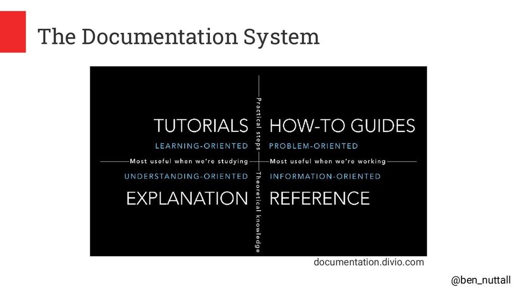 @ben_nuttall The Documentation System documenta...