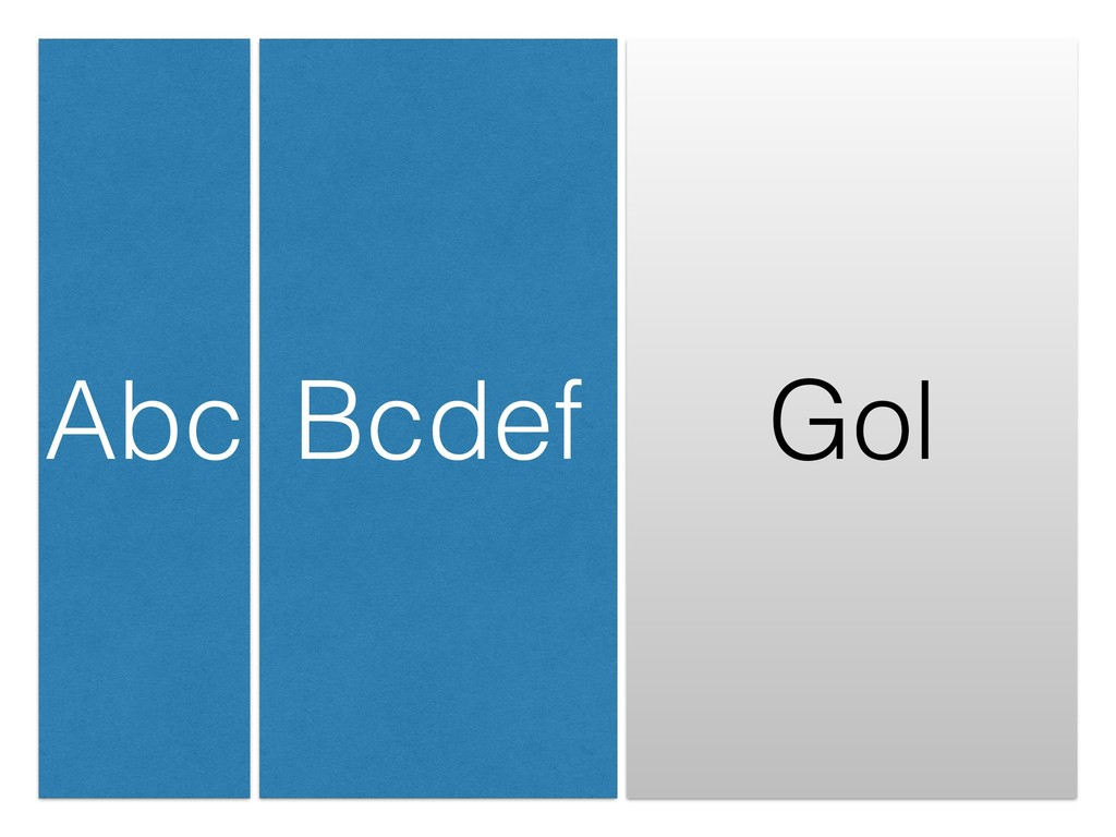 Abc Bcdef Gol