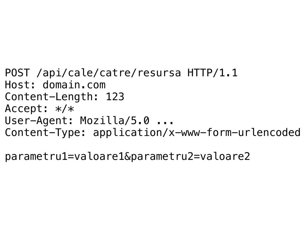 POST /api/cale/catre/resursa HTTP/1.1 Host: dom...