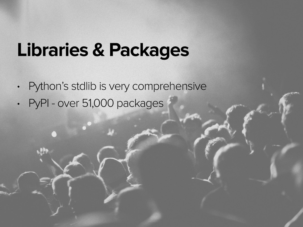 November 3, 2014 Libraries & Packages • Python'...