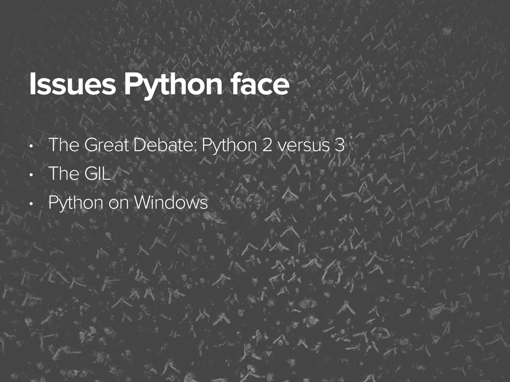 November 3, 2014 Issues Python face • The Great...