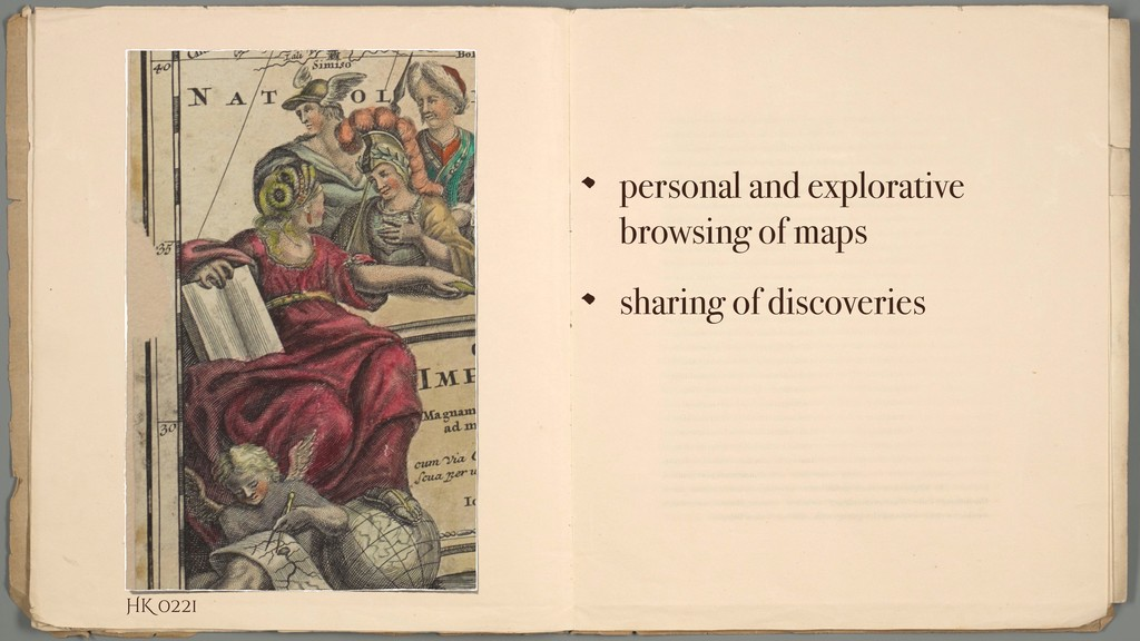 personal and explorative browsing of maps shari...
