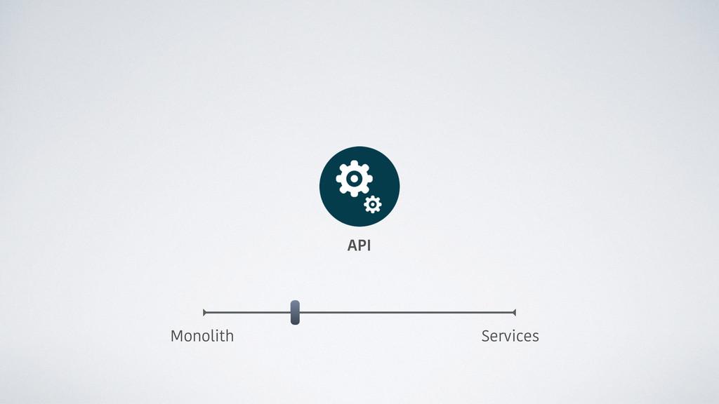 API Monolith Services