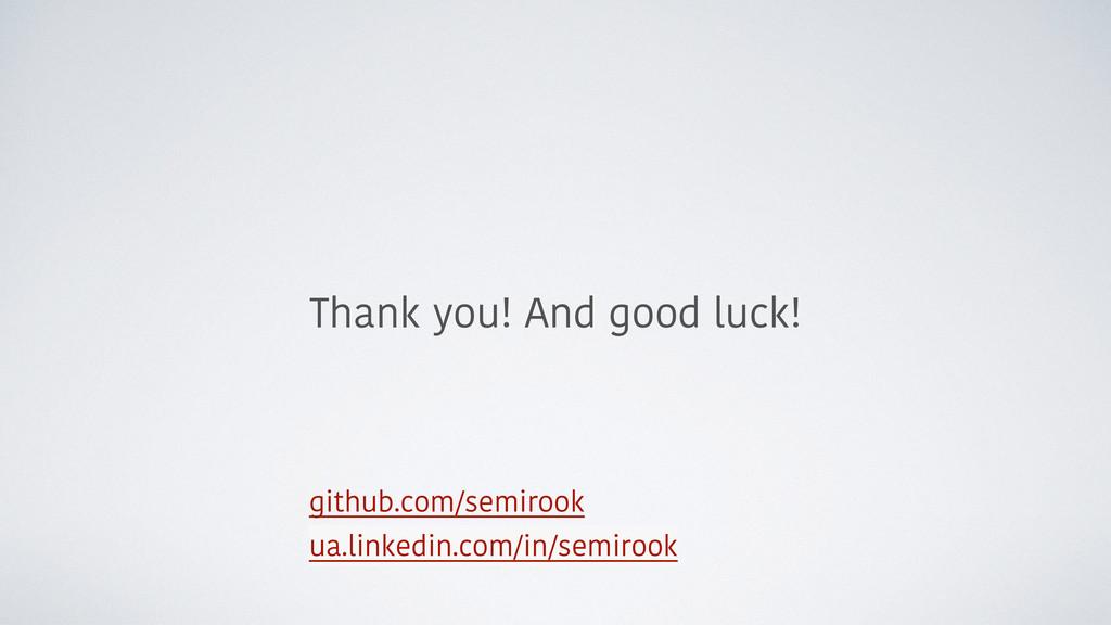 github.com/semirook ua.linkedin.com/in/semirook...