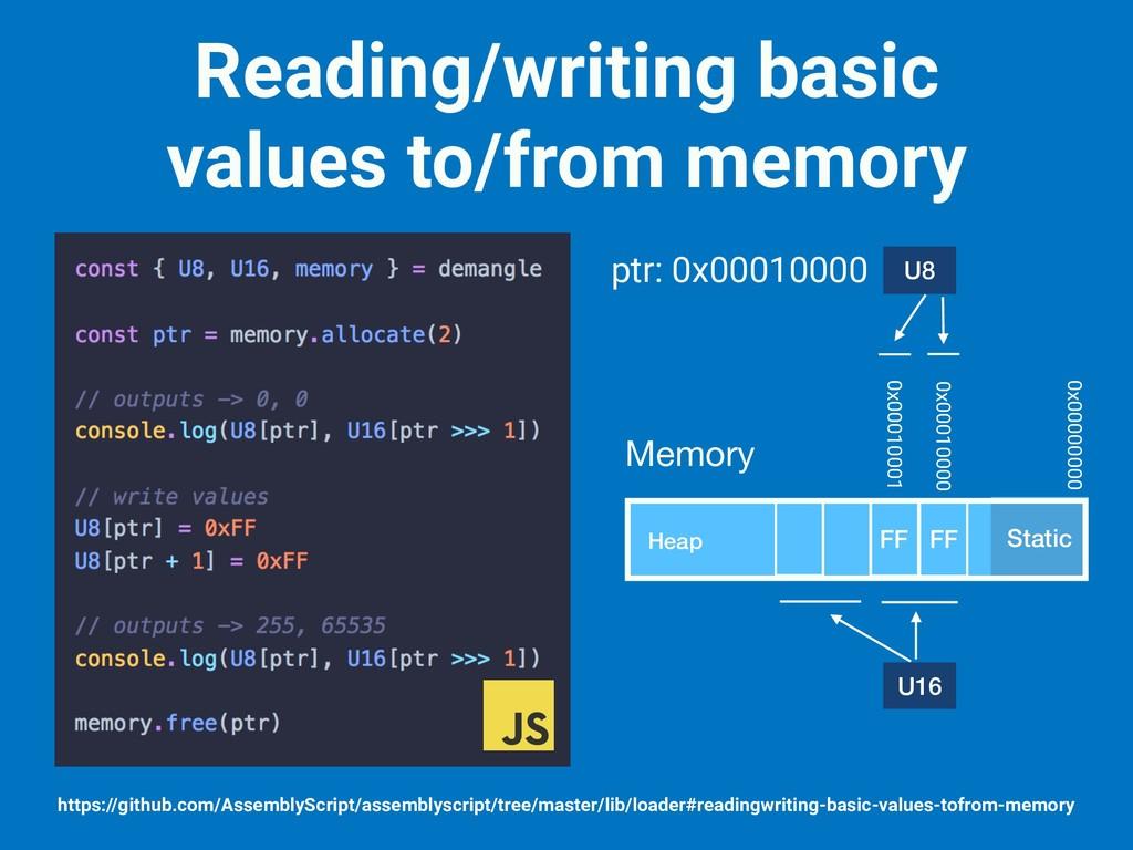 Reading/writing basic values to/from memory htt...
