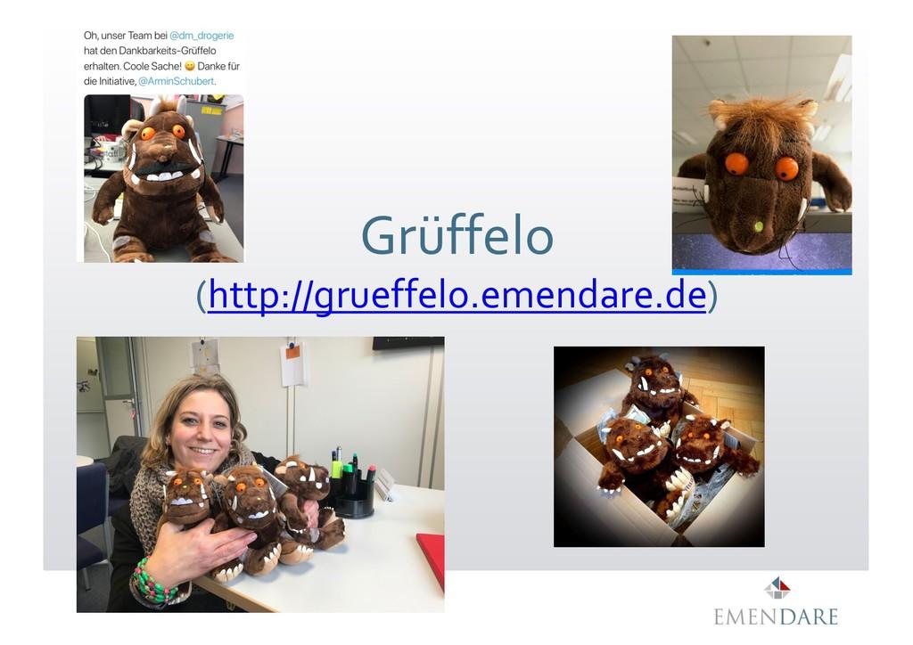 Grüffelo (http://grueffelo.emendare.de) Grüffel...