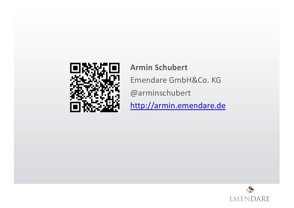 Armin Schubert Emendare GmbH&Co. KG @arminschub...