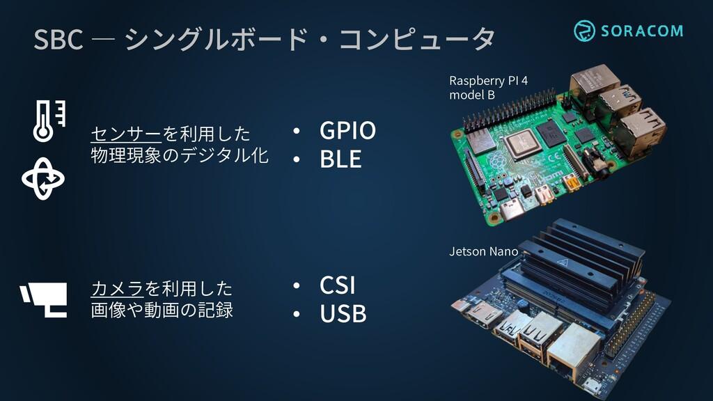 SBC ― シングルボード・コンピュータ Raspberry PI 4 model B Jet...