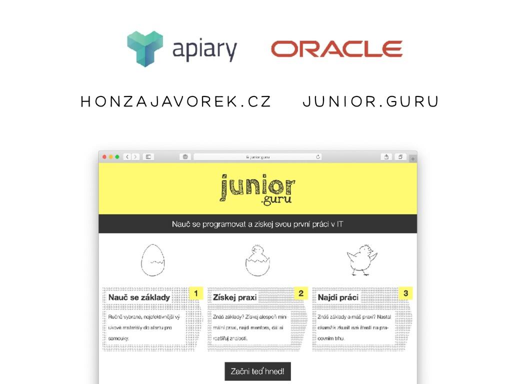 honzaja vorek.cz junior.guru