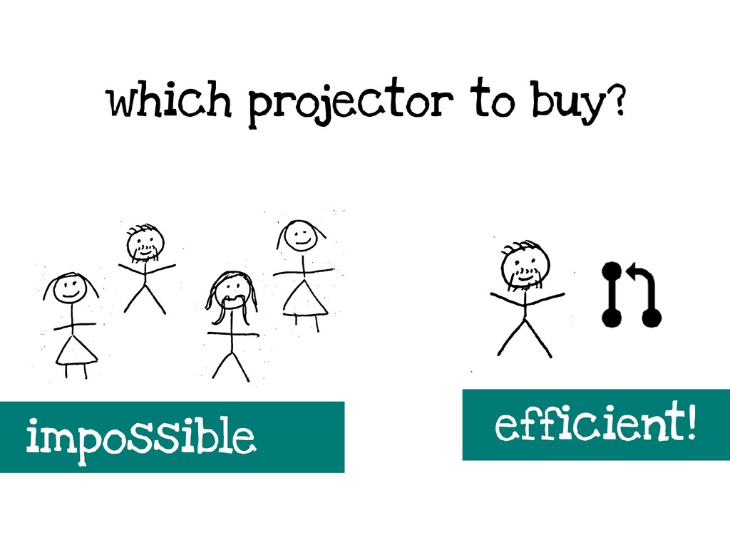 which projector to buy? efficient! impossible