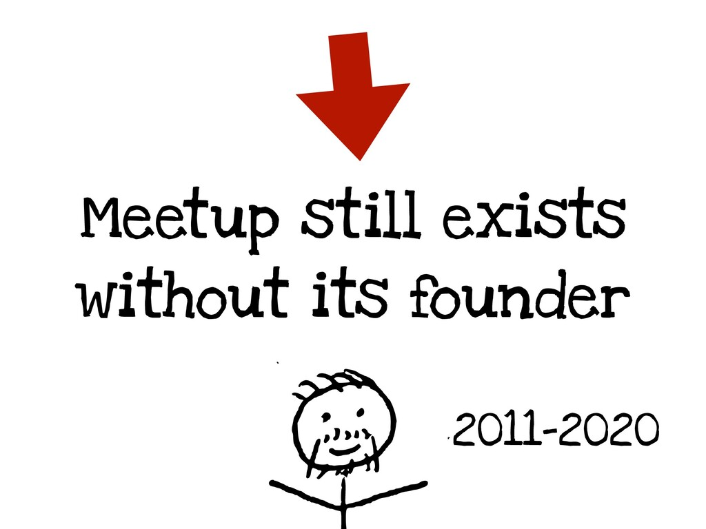 Meetup still exists without its founder 2011-20...