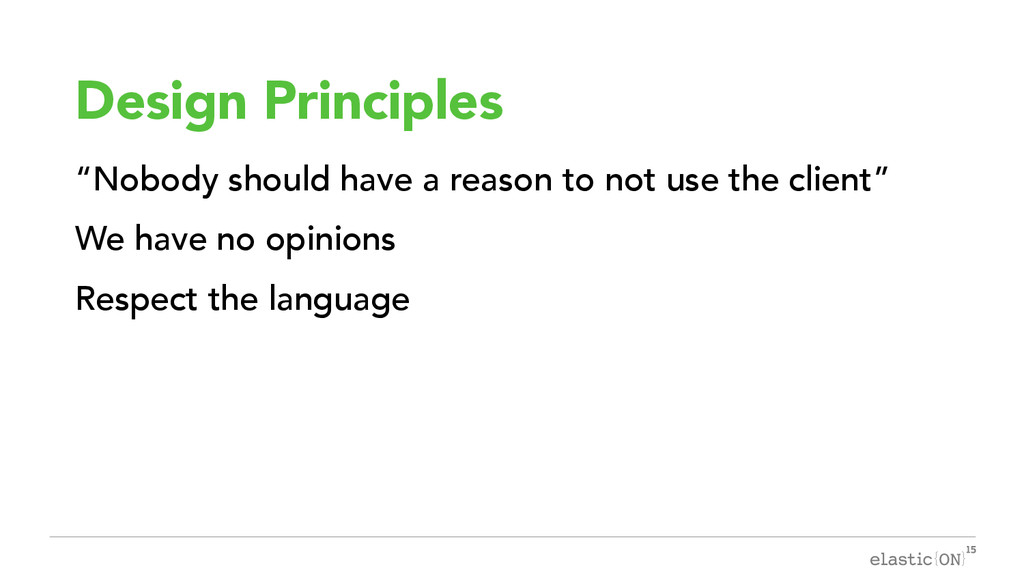 "{ } Design Principles ""Nobody should have a rea..."