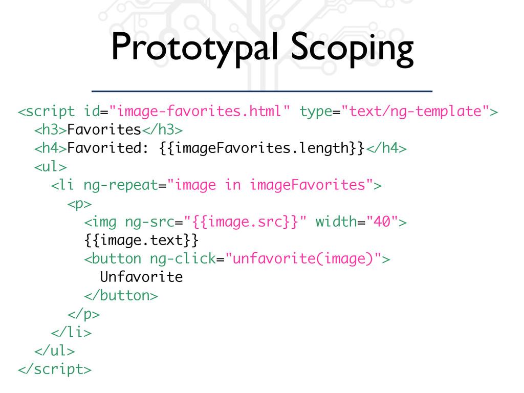 "Prototypal Scoping <script id=""image-favorites...."
