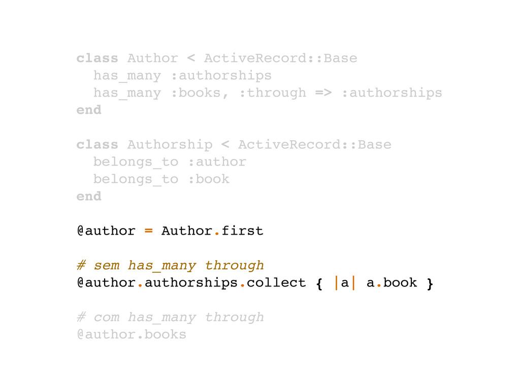 class Author < ActiveRecord::Base has_many :aut...