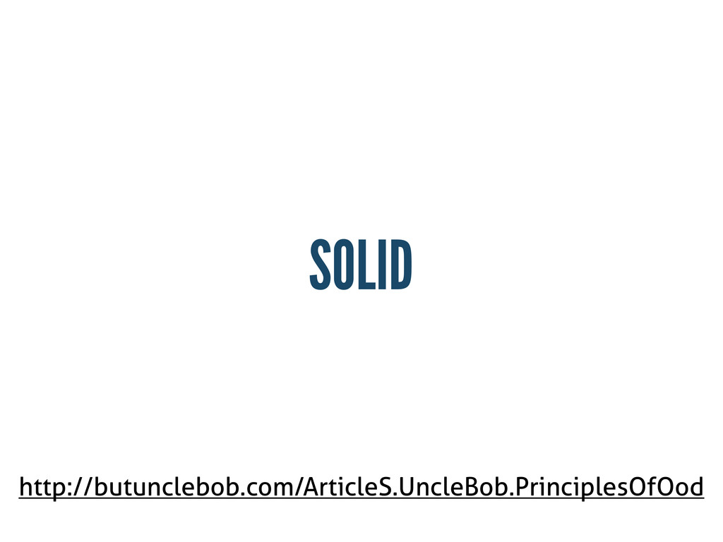 SOLID http://butunclebob.com/ArticleS.UncleBob....