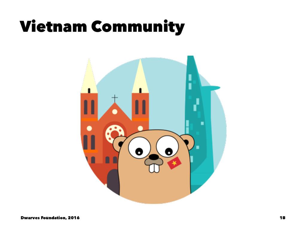 Vietnam Community Dwarves Foundation, 2016 18