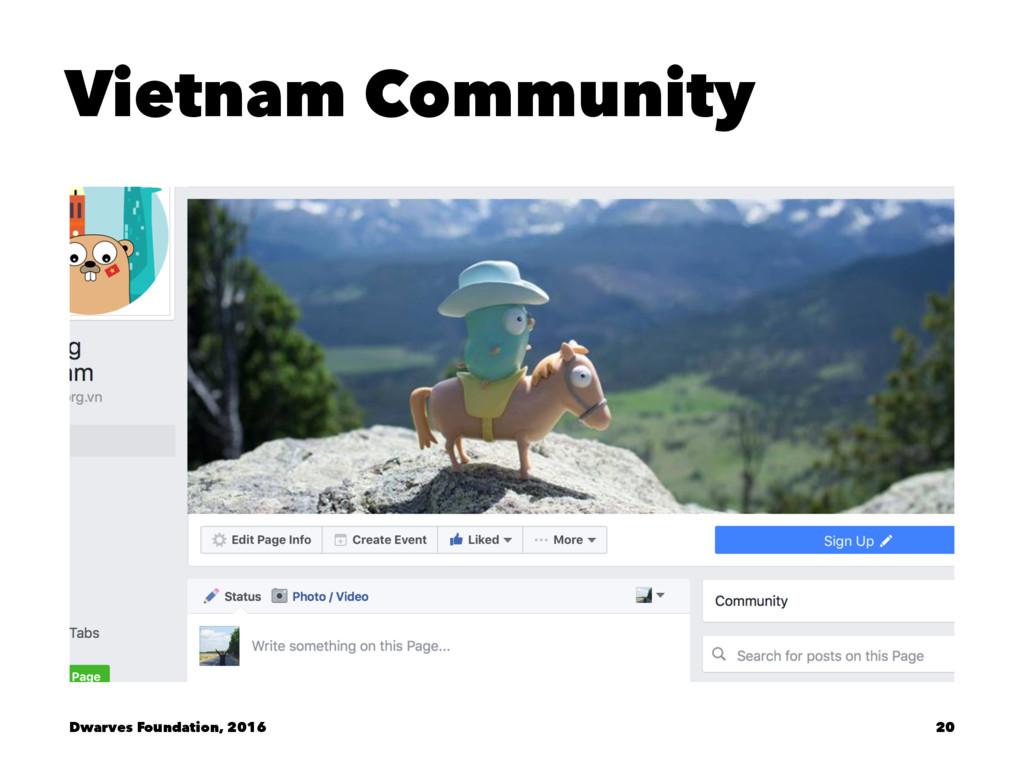 Vietnam Community Dwarves Foundation, 2016 20