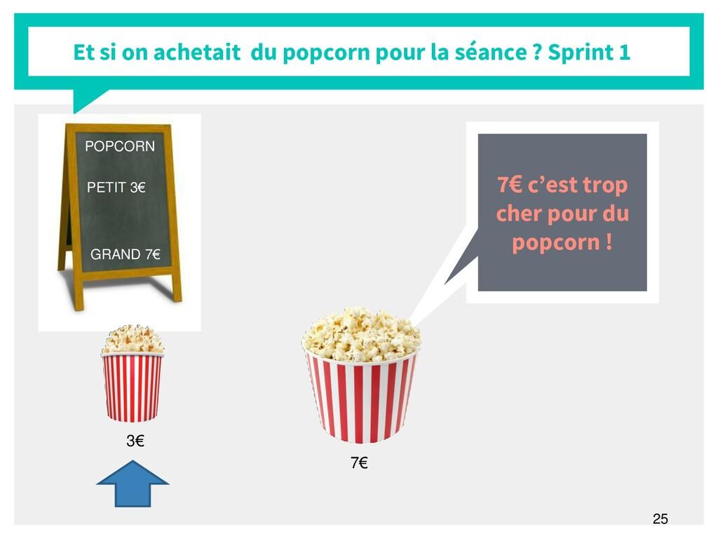 25 Et si on achetait du popcorn pour la séance ...