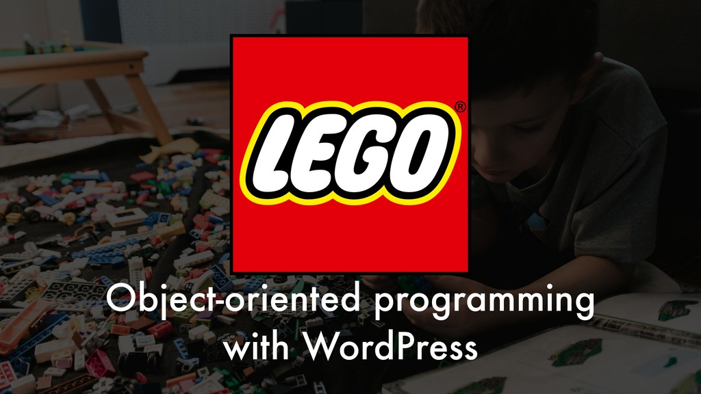 Object-oriented programming with WordPress
