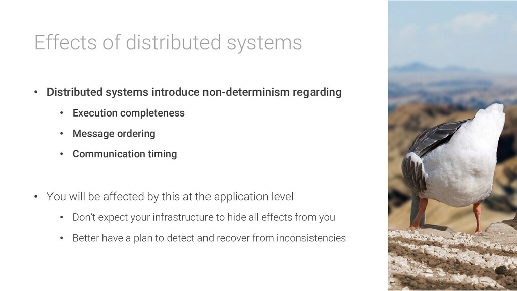 Effects of distributed systems • Distributed sy...