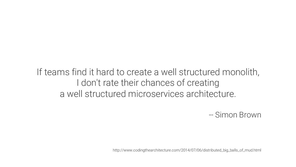 If teams find it hard to create a well structur...