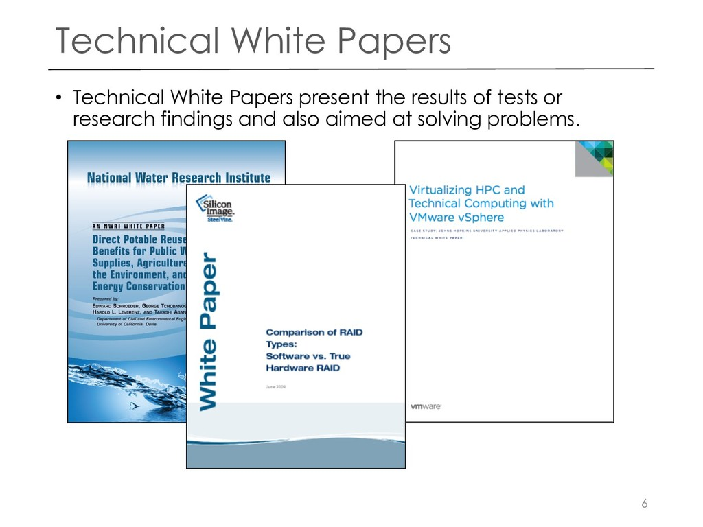 Technical White Papers • Technical White Papers...