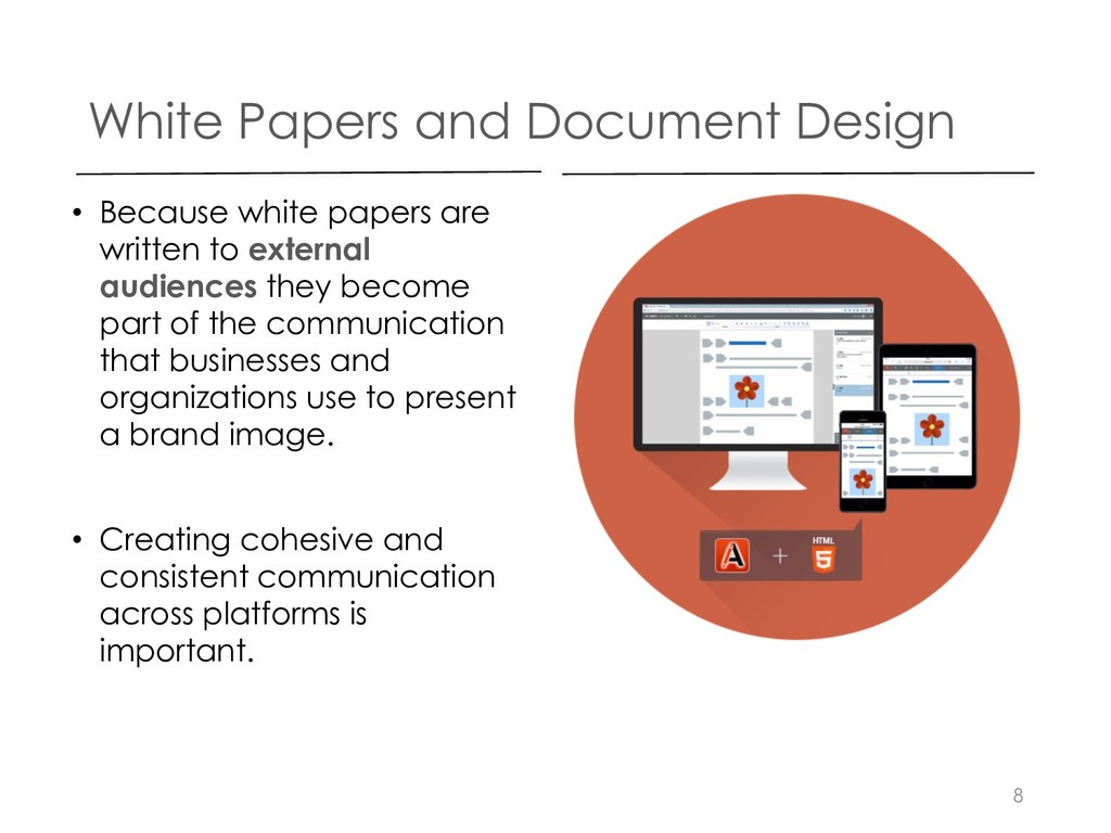 White Papers and Document Design • Because whit...