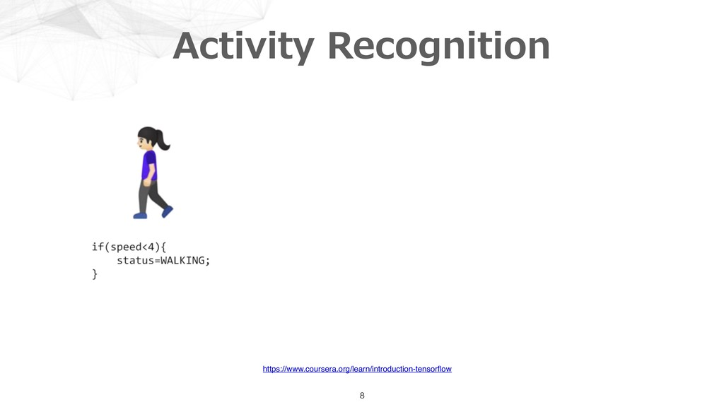 Activity Recognition 8 https://www.coursera.org...