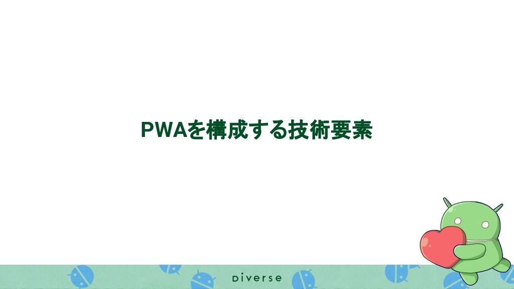 PWAを構成する技術要素