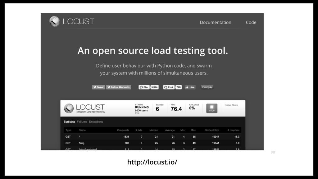 http://locust.io/ 90