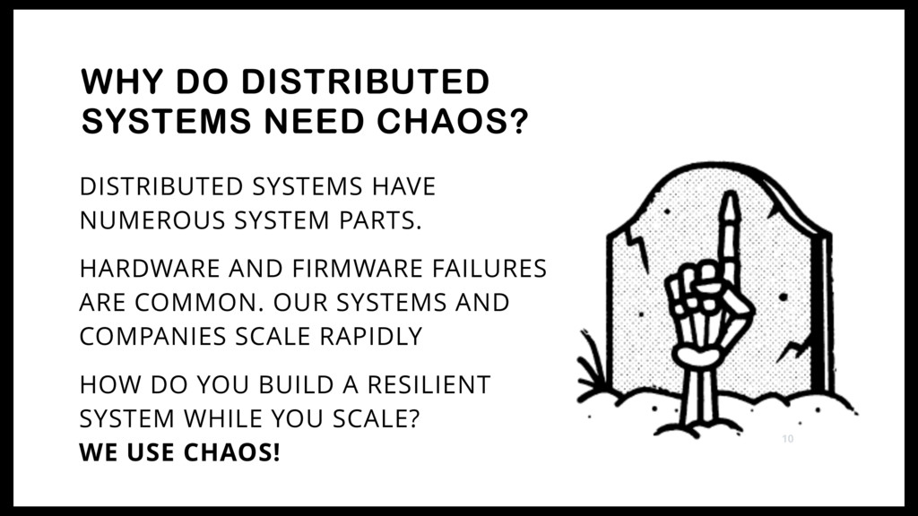 DISTRIBUTED SYSTEMS HAVE NUMEROUS SYSTEM PARTS....
