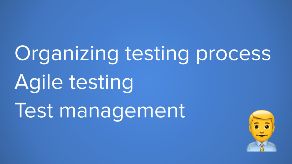 Organizing testing process Agile testing Test m...