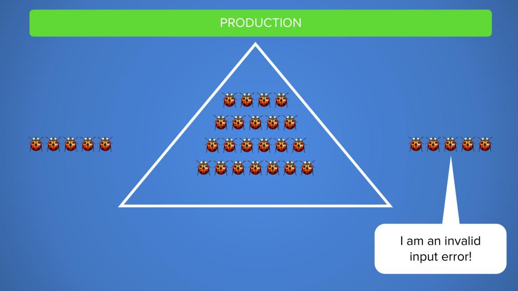 PRODUCTION         I am an invalid input error!