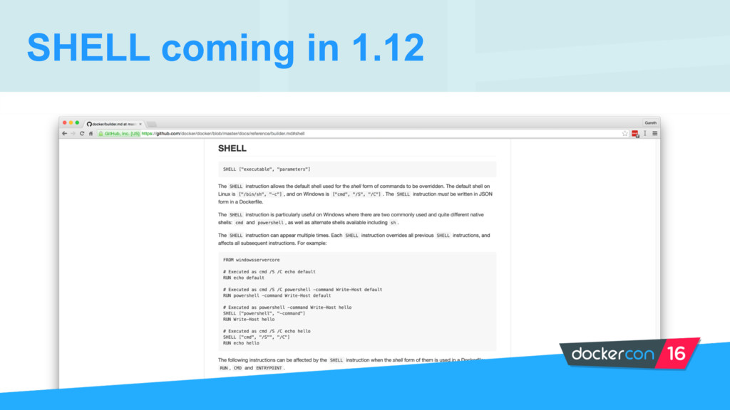 SHELL coming in 1.12
