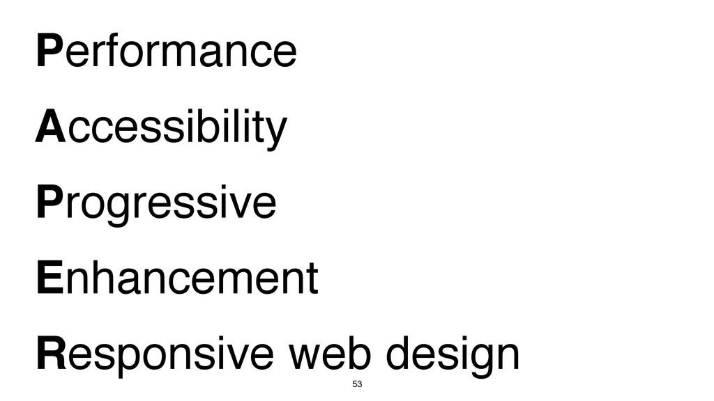 53 Performance Accessibility Progressive Enhanc...