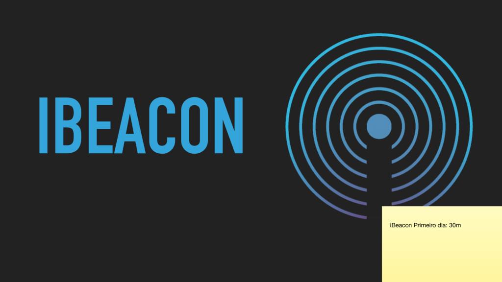 IBEACON iBeacon Primeiro dia: 30m