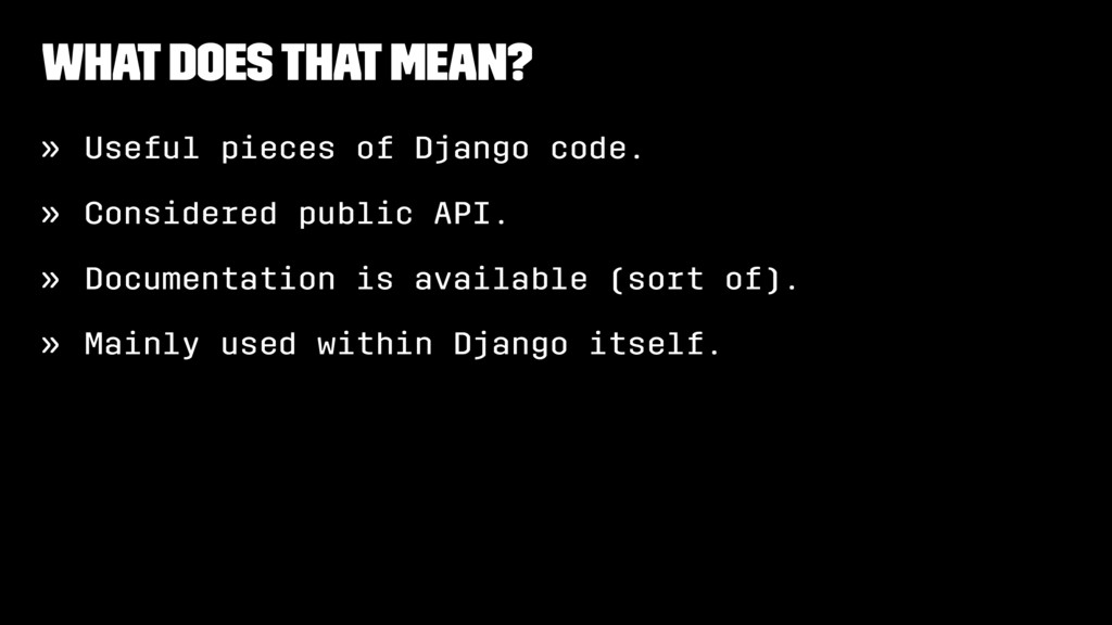 What Does That Mean? » Useful pieces of Django ...