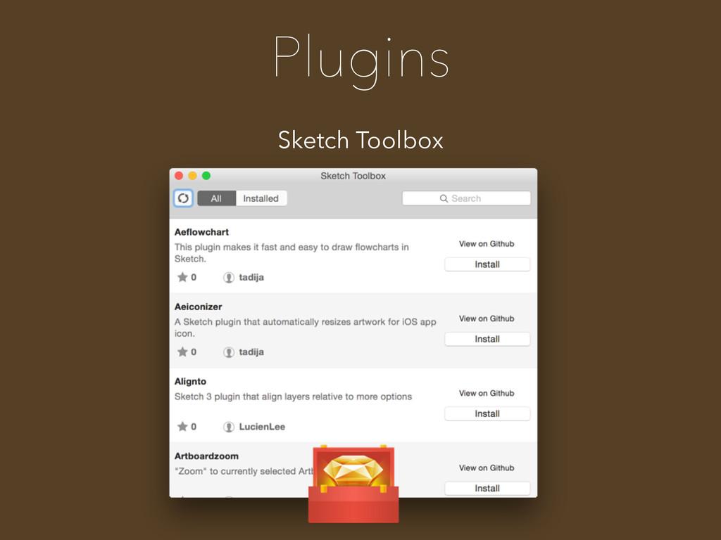 Plugins Sketch Toolbox
