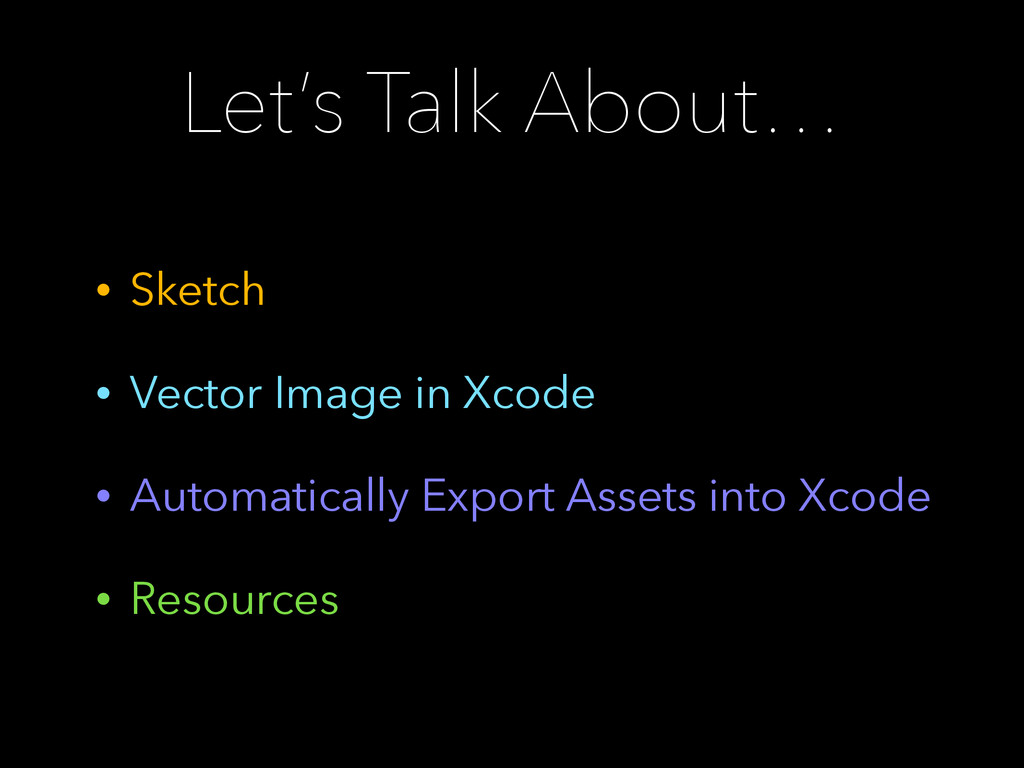 Let's Talk About… • Sketch • Vector Image in Xc...